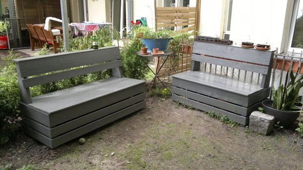 Excellent and Easy Garden Storage Bench