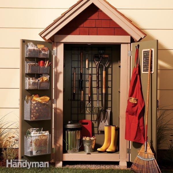 Garden Closet Storage