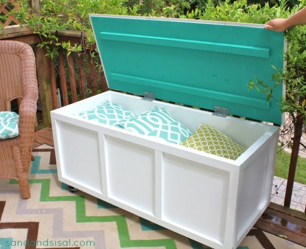Storage Box Bench