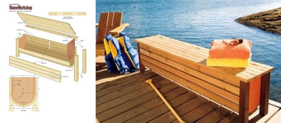 Stylish Dock Storage