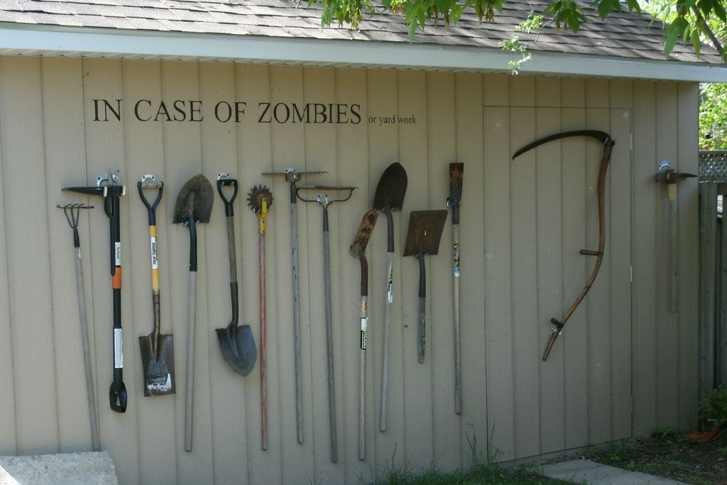 Garden Tool Storage Ideas find this pin and more on garden storage sheds these genius garden tool storage solutions 34 Easy Garden Tool Storage