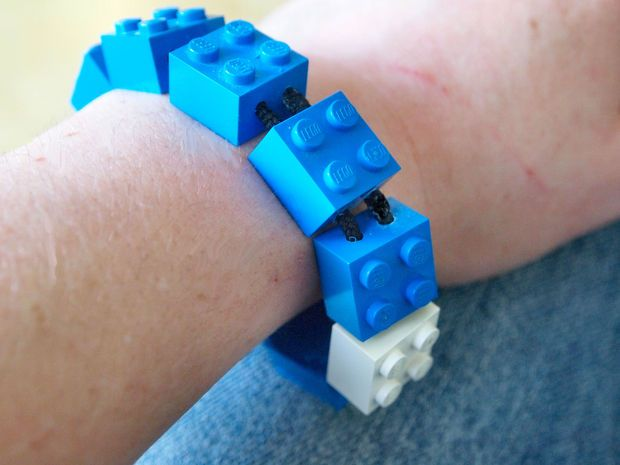 LEGO Flash Drive Bracelet