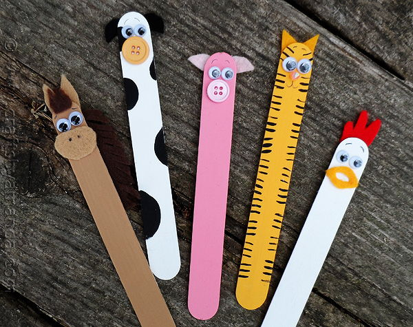 Farm Animals Craft Stick Crafts Are Fun For Kids As They Can Be Turned Into Just About Anything Make Adorable Barnyard And Other Great