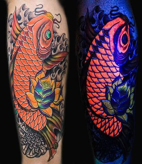35 cool uv tattoos that you never knew it exists page 5 for Uv tattoo health risks