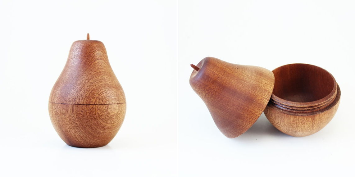 Pear Wooden Box