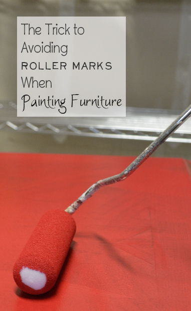 Trick to Avoiding Roller Marks When Painting