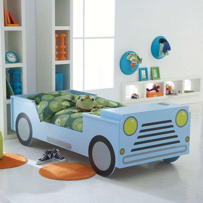 Bed Shaped Car