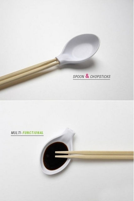 All in One, Chopstick and Spoon