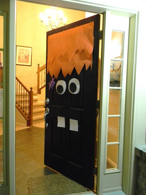 Monster Door Decor