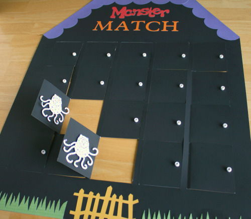 Monster House Monster Matching Game