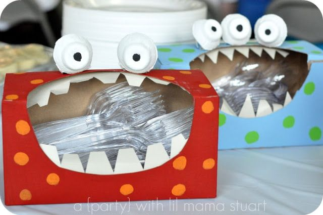 Monster Utensil Holders