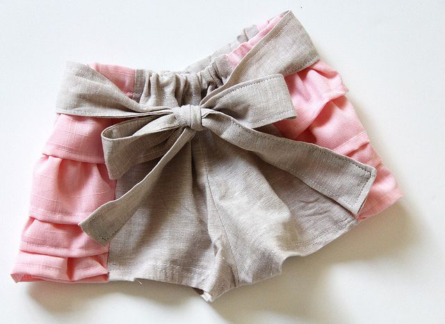 Ruffled Bloomers
