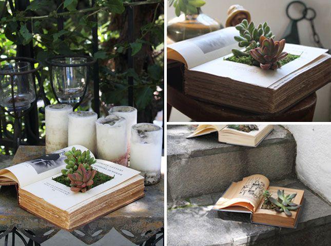 Book Planters