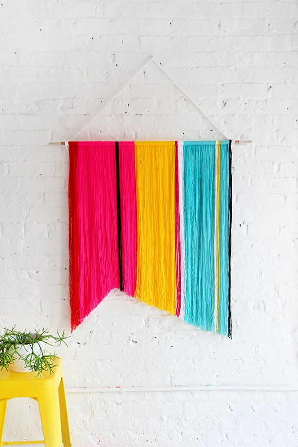 Cotton Yarn Wall Hanging