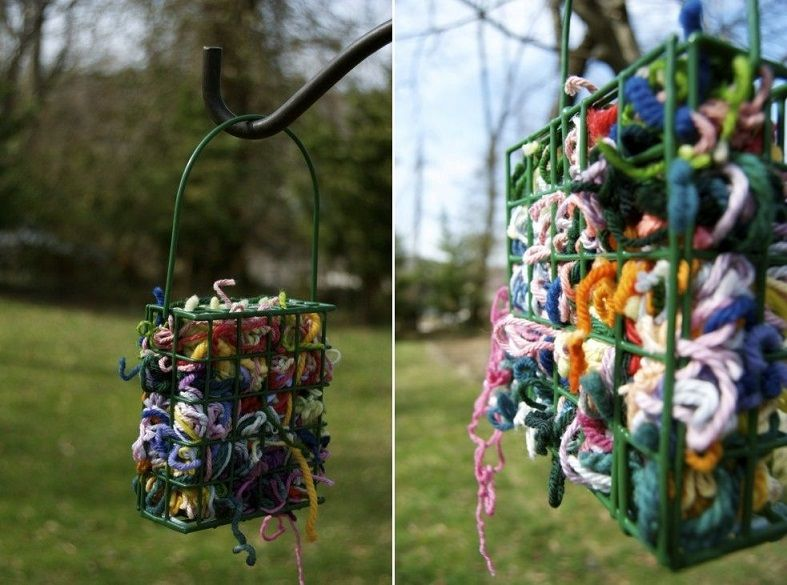 Provide nesting materials for all the birds in your area