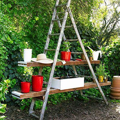 Ladder Potting Station